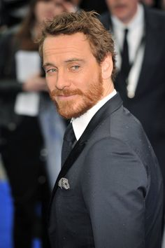 Michael Fassbender at the London premiere of Prometheus on Thursday May 31, 2012.