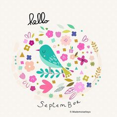 Have good time in September... #happyseptember #art #design #cards #helloseptember
