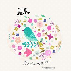 Have good time in September... #happyseptember #art #design #cards #helloseptember