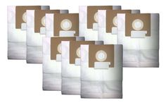 9-Pack Oreck Quest Vacuum Bags Part # PK12MC1000 for MC1000 Canister Vacuums with Allergen Filtration