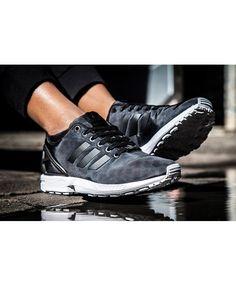823b7667113c Adidas Zx Flux Womens Black shoes mesh design