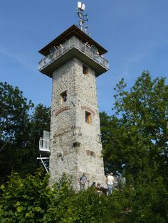 Rozhledna Alexandrova rozhledna | Rozhledny v ČR Lookout Tower, Czech Republic, Towers, Old Houses, Trips, Architecture, Outdoor Decor, Travel, Viajes