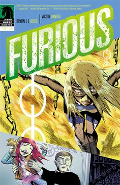 Furious issue 3 cover
