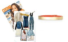 Cosmo For Latinas - September 2014 featuring the Enlighten Bracelet by Stella & Dot #EveryMotherCounts