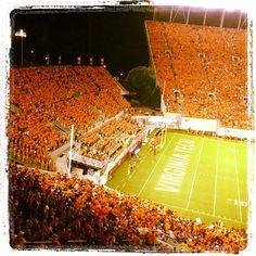 Orange Effect for the Georgia Tech game