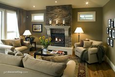 Living Room Photos / Pictures, Decorating, Interior Design & Decor Ideas for Living Rooms in the Home / House - GetDecorating.com