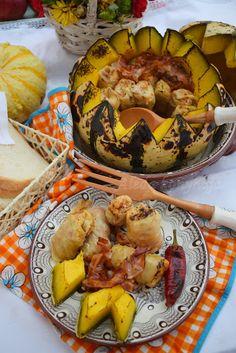 Aleda konyhája: Sütőtökben sült töltött káposzta