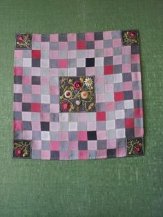 Korean patchwork with embroidery 달숲의 실로 짓는 이야기 : 네이버 블로그