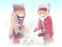 Kenma and Hinata