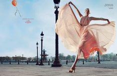 Gemma Ward -- Hermes Ad