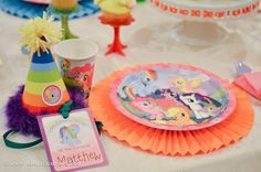 """I love this theme! This time I helped setting up for my cutie little niece third birthday party theme """"My Little Pony."""" I especially love th..."""