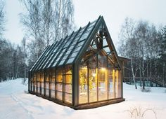 Elegant Pirogovo Greenhouse Nurtures Organic Greens and Vegetables in Russia | Inhabitat - Sustainable Design Innovation, Eco Architecture, Green Building