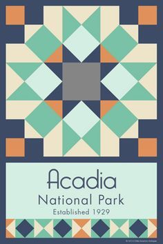 big bend national park quilt square - Google Search