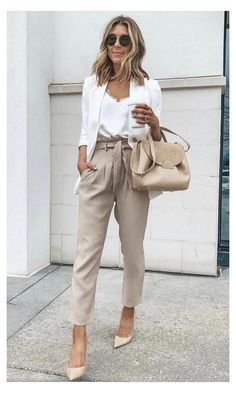 Stylish Work Outfits, Casual Work Outfits, Mode Outfits, Work Casual, Classy Outfits, Outfit Work, Summer Work Outfits Office, Curvy Outfits, Summer Work Fashion