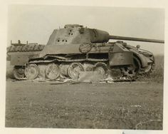 A Panther Ausf D knocked out during the fighting at Kursk in 1943
