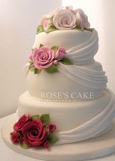 beautiful wedding cake #weddingcake