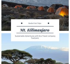 The tallest free standing mountain in the world attracts more than people a year. From personal challenges to charitable goals the reasons for climbing Kilimanjaro are varied. Top Travel Destinations, Kilimanjaro, Travel Companies, Best Hikes, Once In A Lifetime, Africa Travel, Trekking, Adventure Travel, Climbing