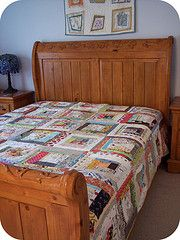 quilt as you go quilt in use