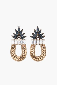 my-tumblrisbetterthanyours:    http://www.ssense.com/women/product/dannijo/amara_earrings/38751#