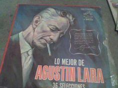 Album Discos L.p. 331/3 Agustin Lara - $ 450.00