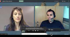 Cómo iniciar una vídeoconferencia en segundos Web 2, Videos, Education, Skype, Social, Google, Blog, Converse, Shape