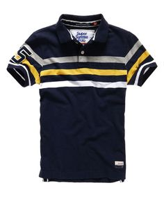 eclipse navy marl mi Superdry Beach Park Polo