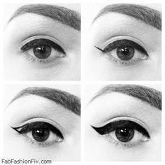 How to Apply Eyeliner Tutorial