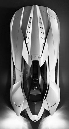"LAMBORGHINI EGOISTA  (Egoista means ""selfish"" in Italian. The car only has one seat)"