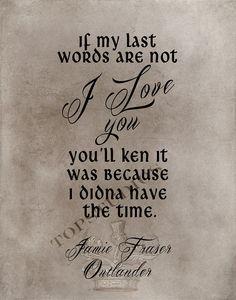 Wenn meine letzten Worte nicht ich liebe dich von ThistleAndCrownCo