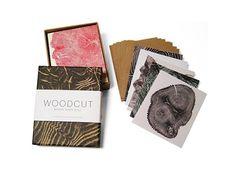 Woodcut Notecards — ACCESSORIES -- Better Living Through Design