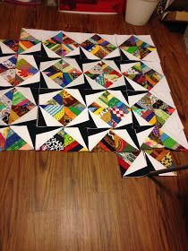 I can't help of think .... Waste Not ~ Want Not.... Scrappin..... and Paper Piecing...... Peaceful quiltin' 2014!