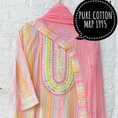 Fancy Dress Design, Lace Design, Pakistani Dresses, Indian Dresses, Indian Tunic, Makeup And Beauty Blog, Kurta Neck Design, Indian Designer Suits, Kurta Designs Women