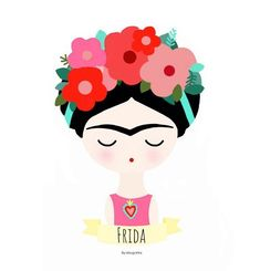 Frida Kahlo Cartoon, Painting Glass Jars, Drawing Cartoon Faces, Kahlo Paintings, Frida Art, Painted Flower Pots, Pop Culture Art, Drawing For Kids, Indian Art