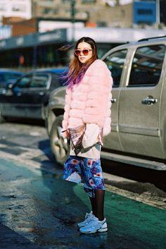 Vanessa Jackman: New York Fashion Week AW 2014....Irene
