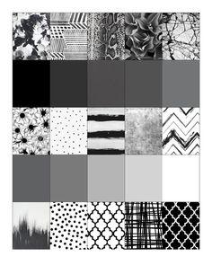 Free Printable: Black & White Erin Condren Life Planner Full Sized Boxes