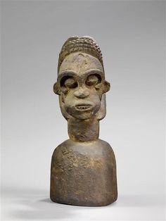 Bangwa Ngkpwé Headdress, Cameroon Art Africain, Grand Palais, Headdress, Self Love, Buddha, Statue, Self Esteem, Fascinators, Headpiece