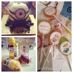 Minions theme Birthday Party