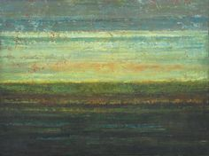 Huge Abstract Landscape Painting - Sunset on the Serengeti (30x40) Original Acrylic Painting