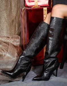 FASHION BOOTS Fashion Boots, Knee Boots, Shoes, Zapatos, Shoes Outlet, Footwear, Knee High Boots, Shoe, Knee Boot