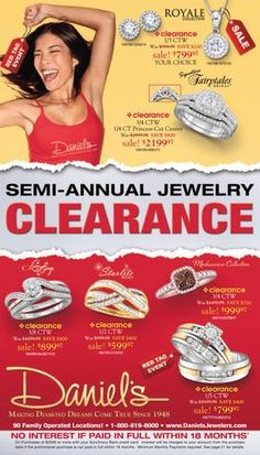 C37  Semi-Annual Jewelry Clearance