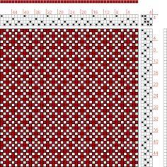 page 188, figure 3:  Orimono soshiki hen [Textile System] | Kiju Yoshida | Japan | c. 1903 | 4-shaft, 4-treadle