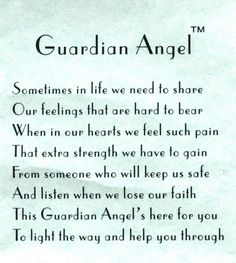 """Guardian Angel.  Repinned by An Angel's Touch, LLC, d/b/a WCF Commercial Green Cleaning Co. """"Denver's Property Cleaning Specialists"""" http://www.angelsgreencleaning.net"""