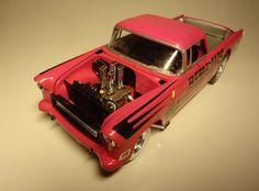 55 Chevy Ute Gasser | The Drastic Plastics Model Car Club