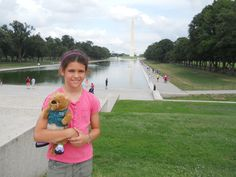 Ollie visited the Washington Monument again this summer. This 555-foot obelisk is made from marble, granite, and bluestone gneiss.