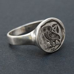 Owl Ring...maybe wearing this will give me the knowledge and wisdom I need :)