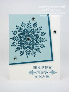 Three pretty cards made with Frosted Medallions stamp set… #stampyourartout - Stampin' Up!® - Stamp Your Art Out! www.stampyourartout.com