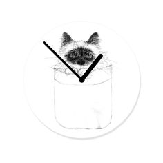 Puss in Pocket by Priscilla Moore. #hellosunday