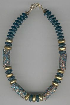 Trade bead necklace 10 from ATB