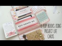 3 ways to make mail using project life cards - YouTube