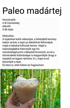 Madártej Healthy Snacks, Healthy Eating, Healthy Recipes, Crossfit Diet, Hungarian Recipes, Winter Food, Healthy Lifestyle, Clean Eating, Paleo